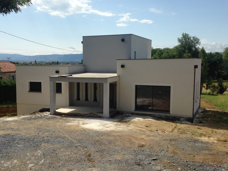Construction maison individuelle Puylaurent pour un client