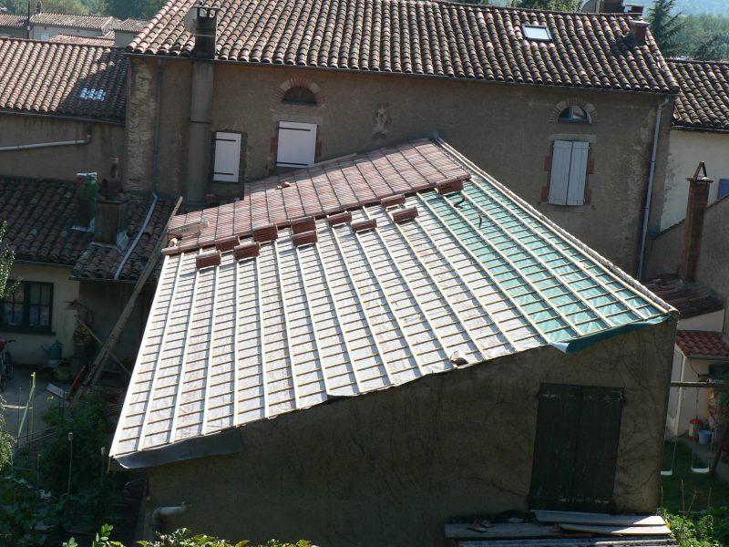 rénovation couverture Lacaune