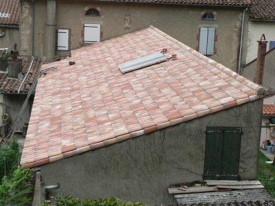 Projet de rénovation couverture Lacaune