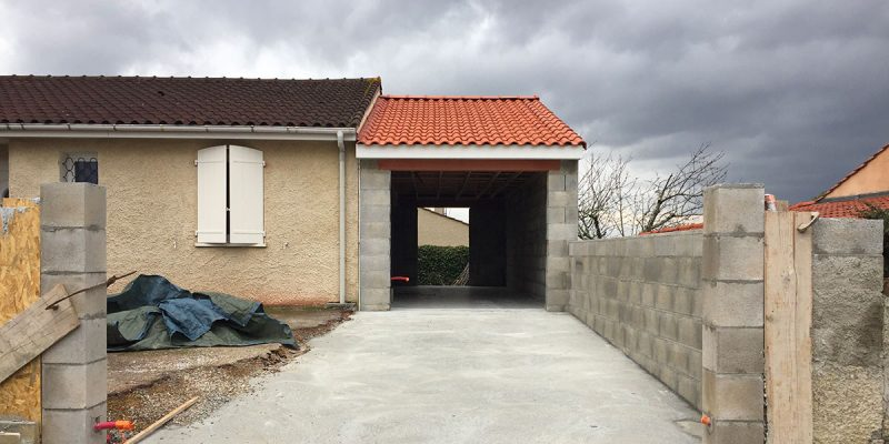 Projet d'extension de maison par notre entreprise de maçonnerie générale Mazamet